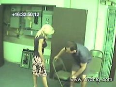 Nice Couple Gets Caught On Hidden Security Cameras In...