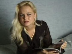Silivia Saint in her first ever casting scene