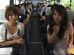 Asian Girls Sucking Guys Cocks While Travelling Getti...