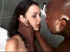 Katie fucked by big black cock