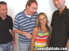 Teen Double Creampie Mini Bukkake