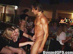 Club party turns into fuck frenzy