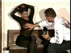 Veronika Zemanova and Man