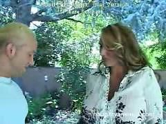 huge titted mom gets fucked by her sonsfitness instru...
